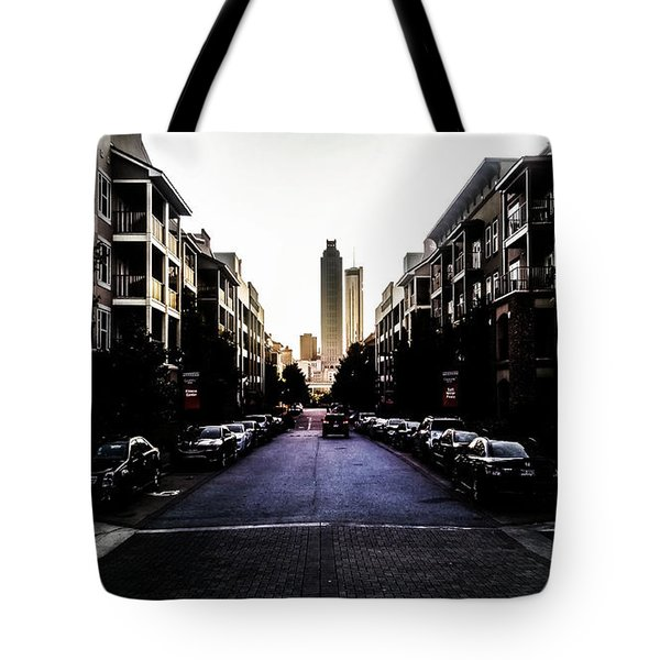 Leading Lines Tote Bag