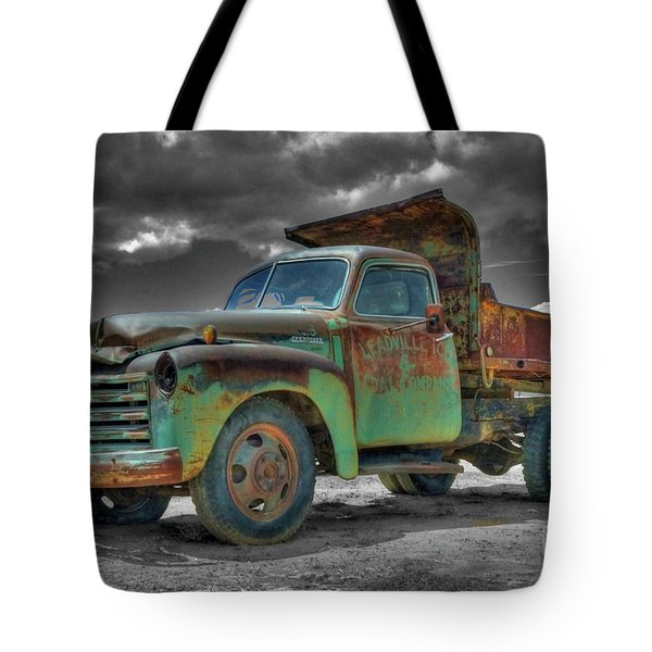 Leadville Coal Company Tote Bag