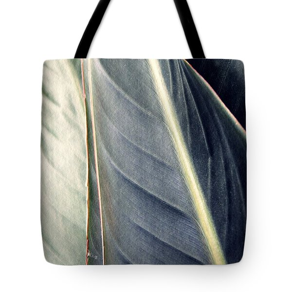 Leaf Abstract 14 Tote Bag by Sarah Loft