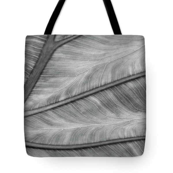 Leaf Abstraction Tote Bag