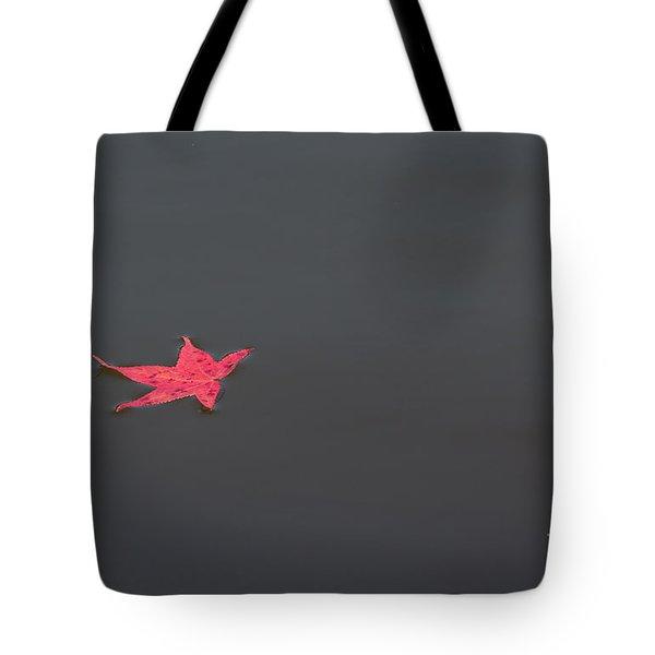Leaf Alone Tote Bag