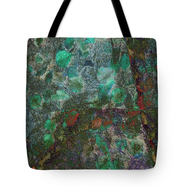Tote Bag featuring the photograph Leaf And Rock Composite 3 by Elaine Teague