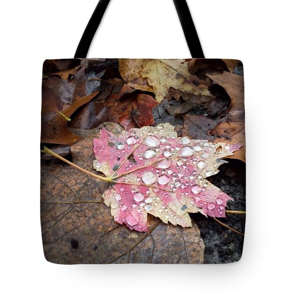 Leaf Bling Tote Bag