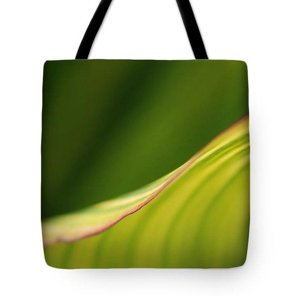 Leaf Tote Bag by Catherine Lau