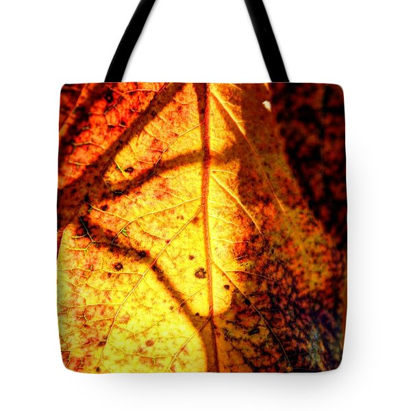 Leaf Light Tote Bag