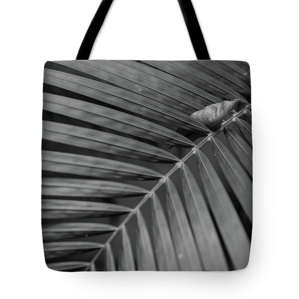 Tote Bag featuring the photograph Leaf On Leafs by Jingjits Photography