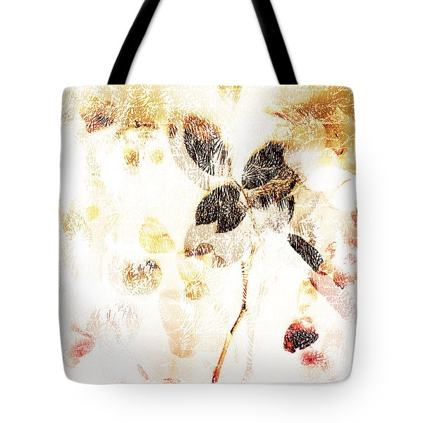 Leaf Overlay Tote Bag by Linde Townsend