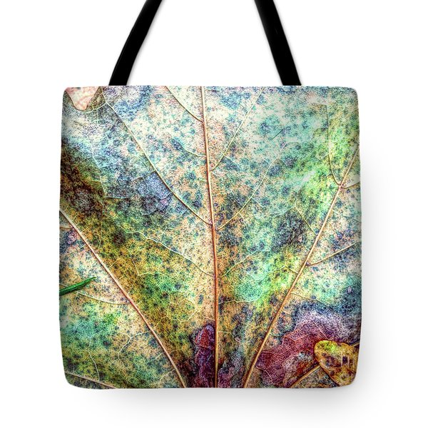 Leaf Terrain Tote Bag by Todd Breitling