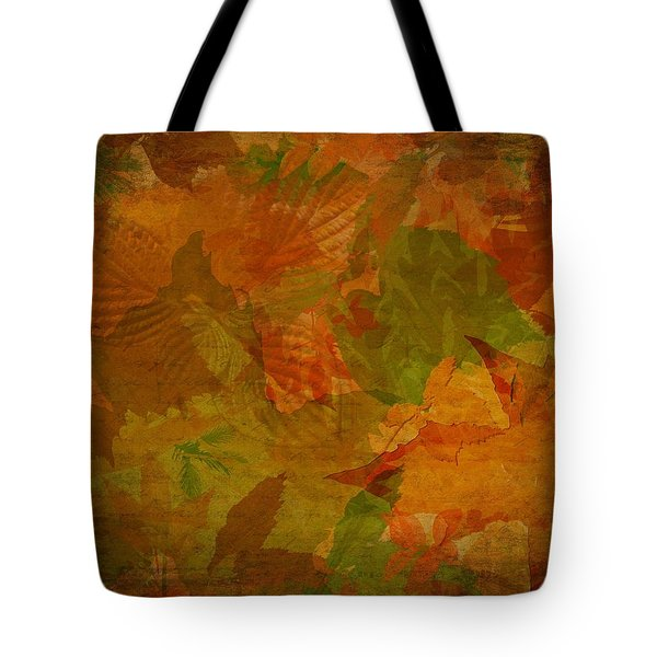 Leaf Texture And Background Tote Bag