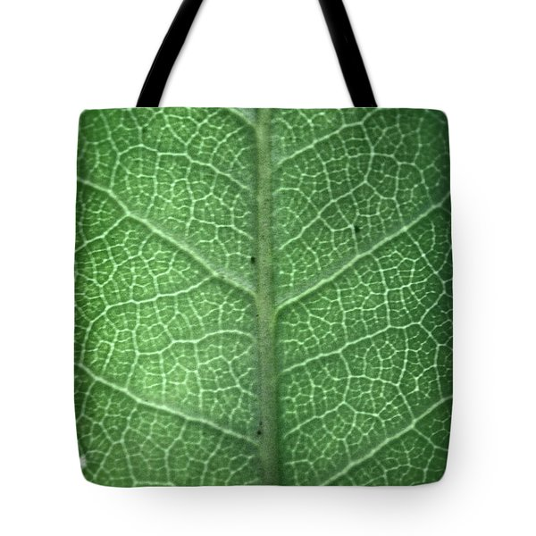 Leaf Vein Tote Bag
