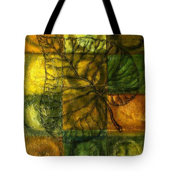Leaf Whisper Tote Bag by Leon Zernitsky