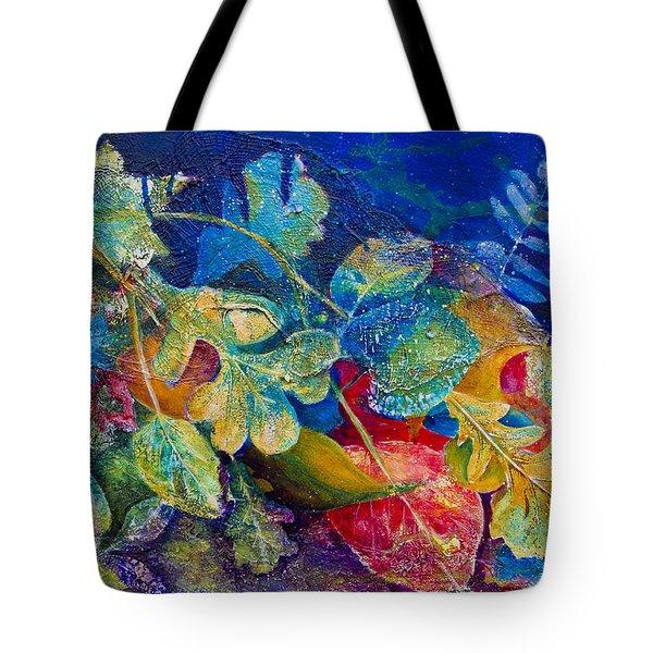 Leafin An Imprint Tote Bag by Jo-Anne Gazo-McKim