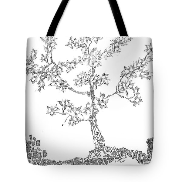 Leafy Jewels Tote Bag by Regina Valluzzi