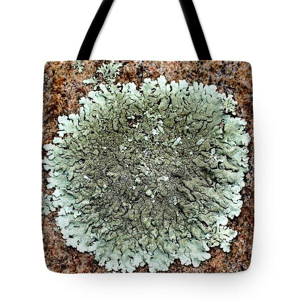 Leafy Lichen Tote Bag