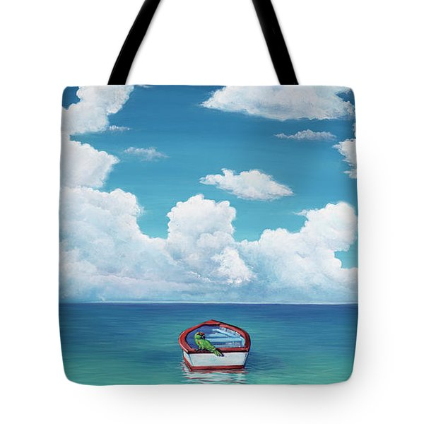 Leaky Little Boat Tote Bag