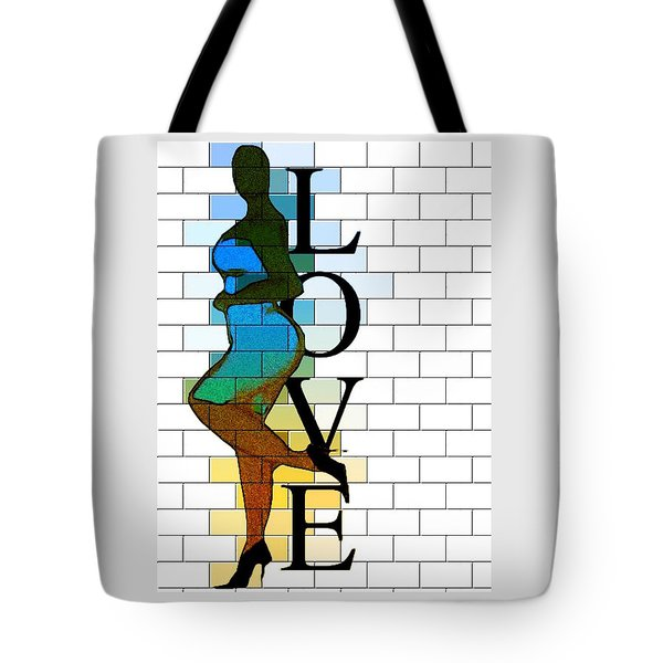 Leanin' On Love Tote Bag