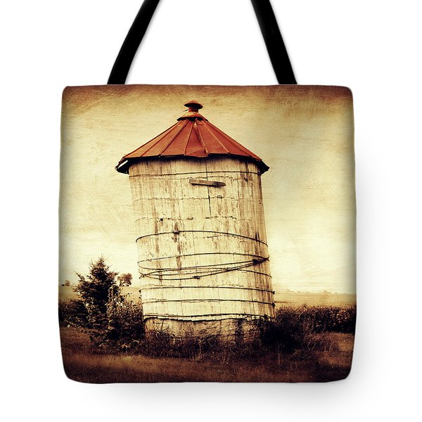 Leaning Tower Tote Bag by Julie Hamilton