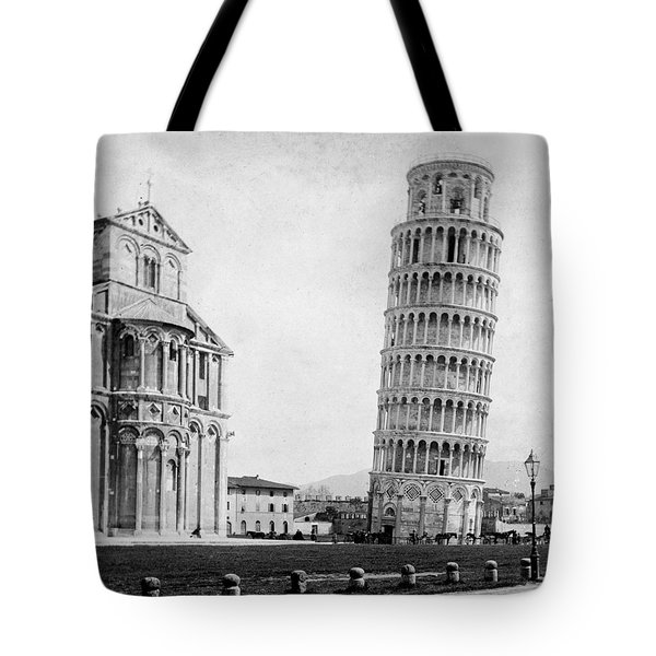 Leaning Tower Of Pisa Italy - C 1902  Tote Bag by International  Images