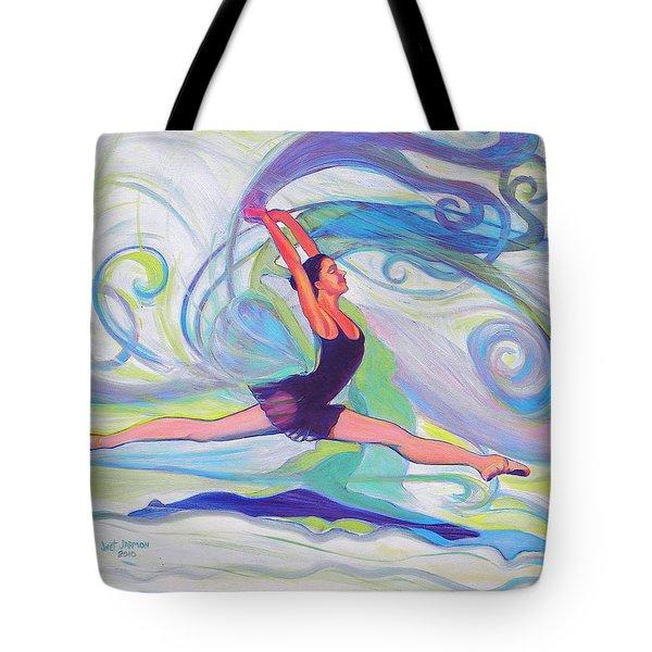 Leap Of Joy Tote Bag
