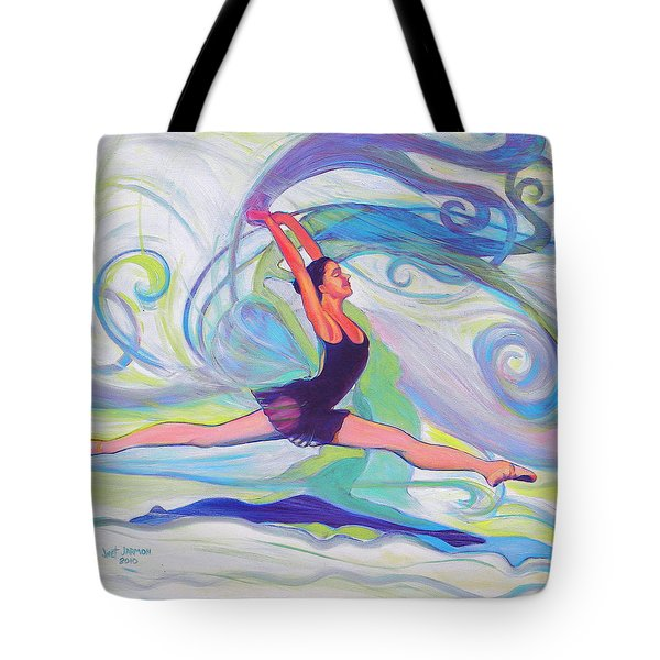 Leap Of Joy Tote Bag