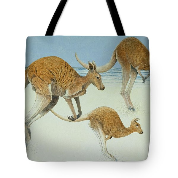 Leaping Ahead Tote Bag by Pat Scott