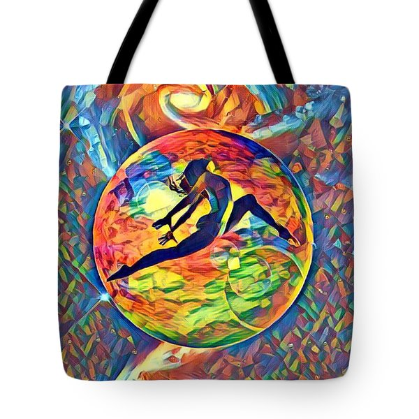 Leaping Home Tote Bag