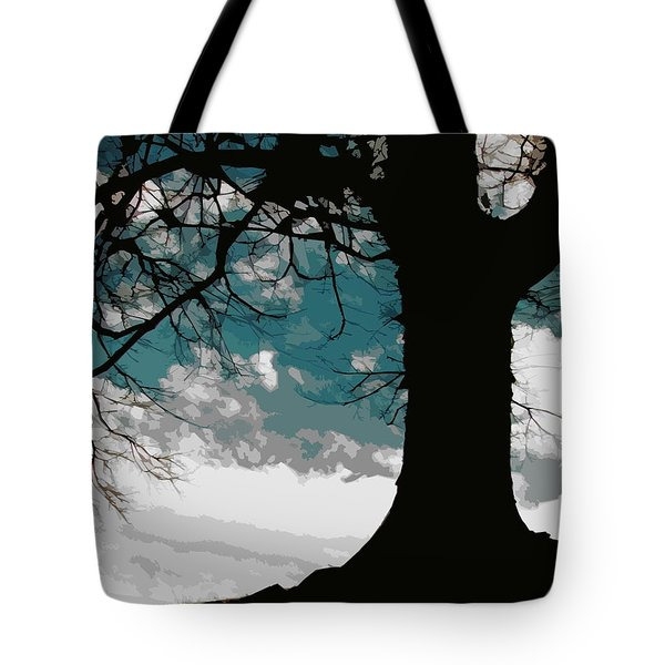 Leaping Spirit Tote Bag by Misha Bean