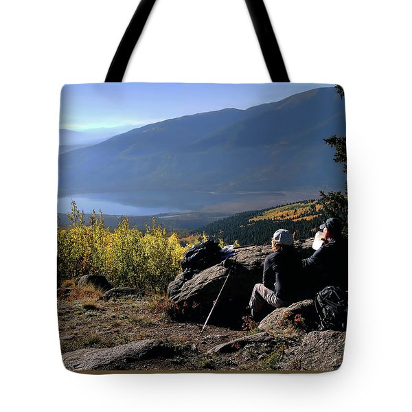 Tote Bag featuring the photograph Learn To Be Still by Jim Hill