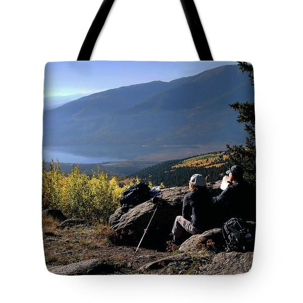 Learn To Be Still Tote Bag