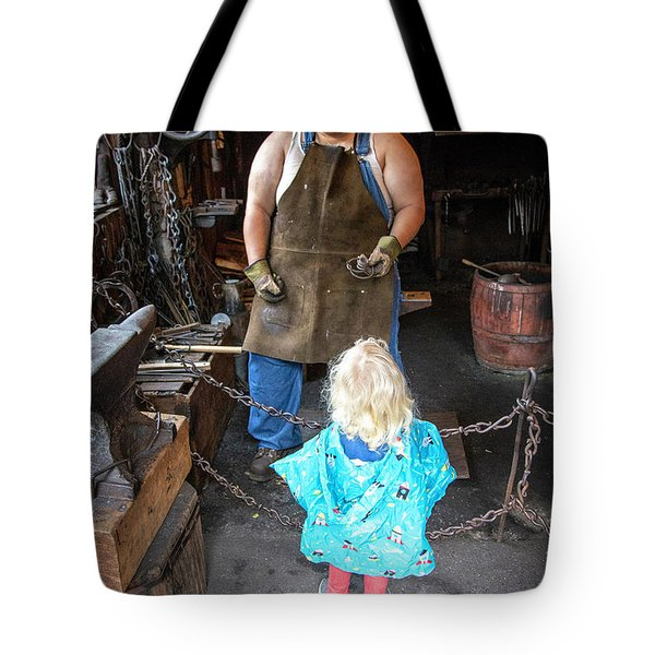 Learning About Metal Tote Bag