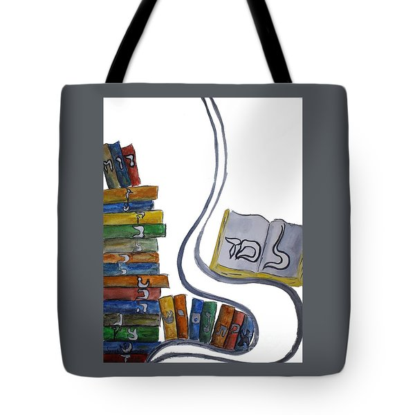 Learning Lamed Tote Bag