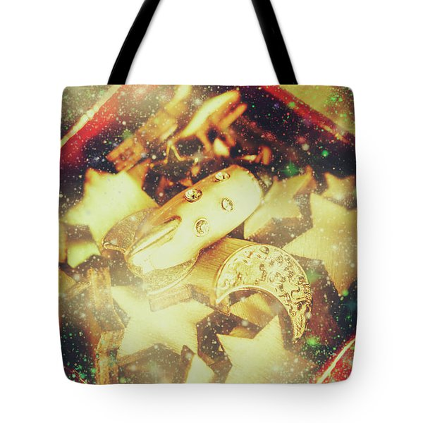 Learning The Magic Of Stars And Space Tote Bag