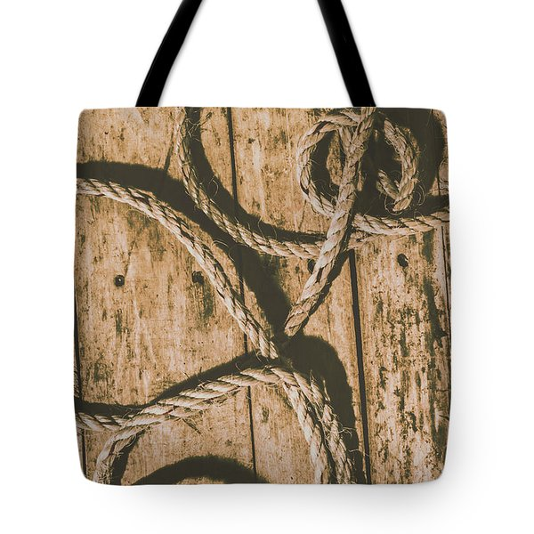 Tote Bag featuring the photograph Learning The Ropes by Jorgo Photography - Wall Art Gallery