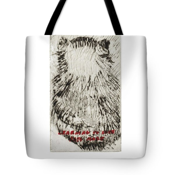 Learning To Love Rats More #3 Tote Bag