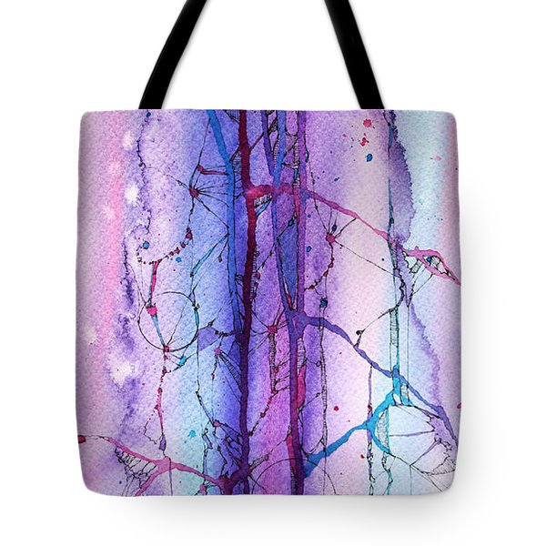 Learning To Weather The Storm Tote Bag by Rebecca Davis