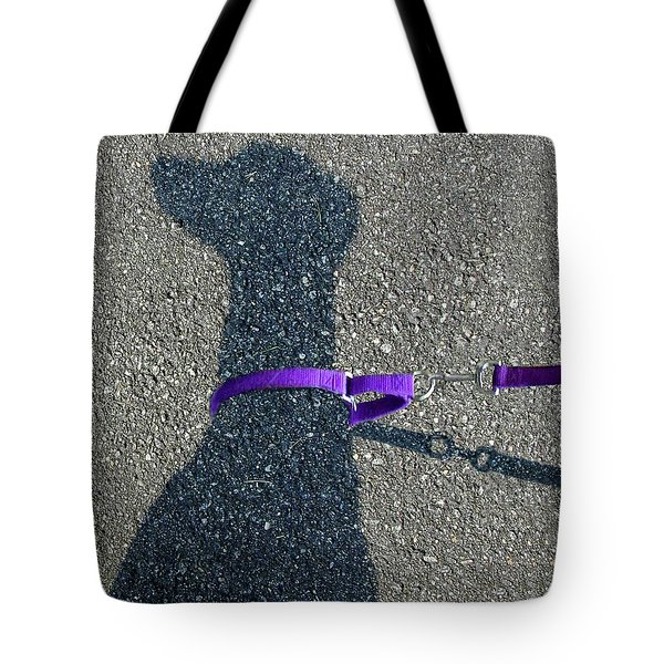 Leash Required On Sunny Days Tote Bag