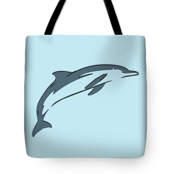 leather Dolphin Tote Bag