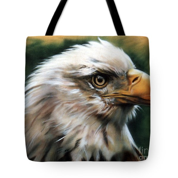 Leather Eagle Tote Bag by J W Baker
