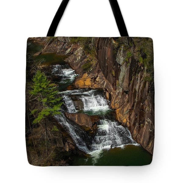 Tote Bag featuring the photograph L'eau D'or Falls by Keith Smith