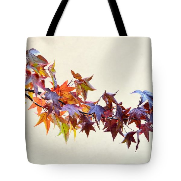 Leaves Of Many Colors Tote Bag
