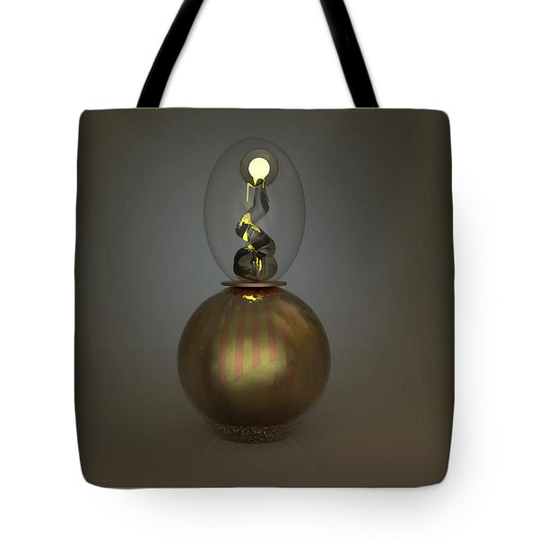 ' Leave The Light On ' Tote Bag