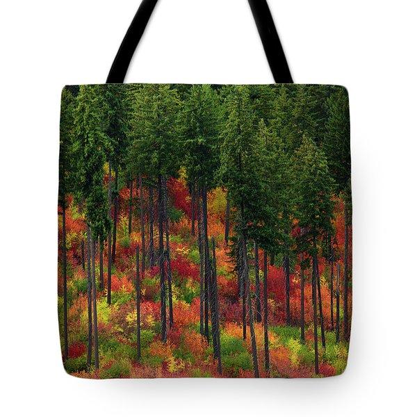 Leavenworth Checkerboard Tote Bag