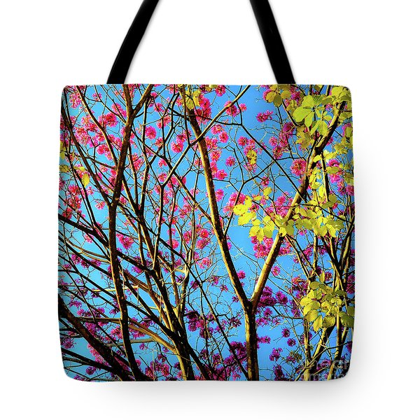 Leaves And Trees 980 Tote Bag