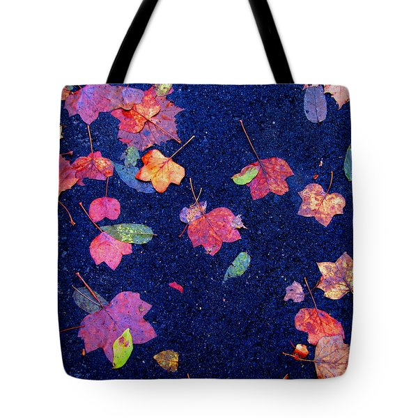 Leaves Tote Bag by Christopher Woods