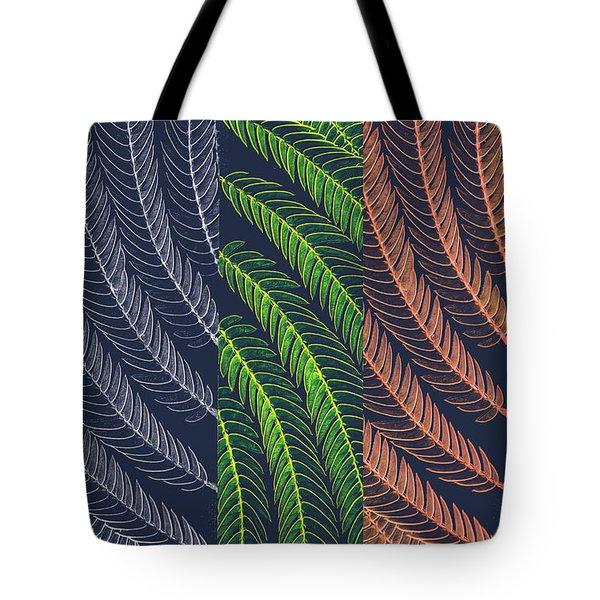 Leaves In Art Tote Bag