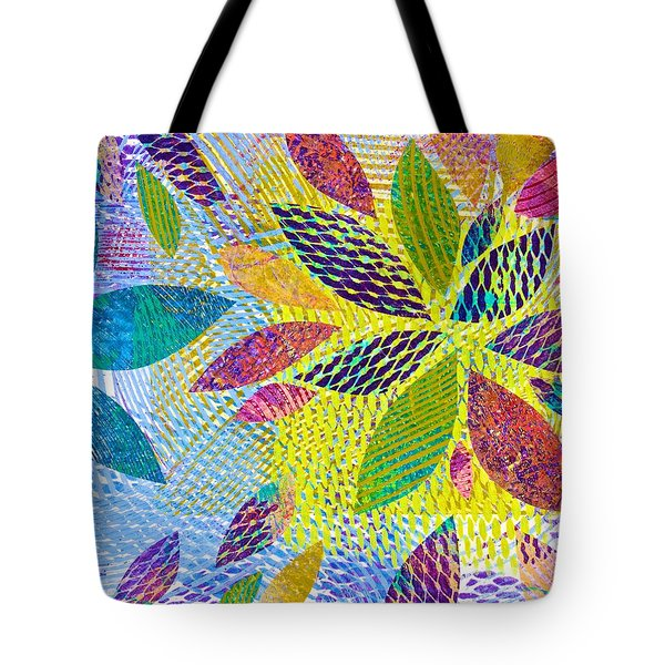 Leaves In Dappled Light Tote Bag