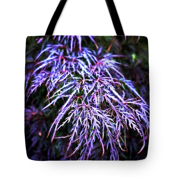 Leaves In The Light Tote Bag