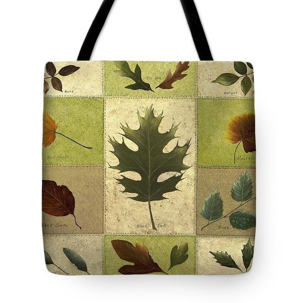 Leaves Tote Bag