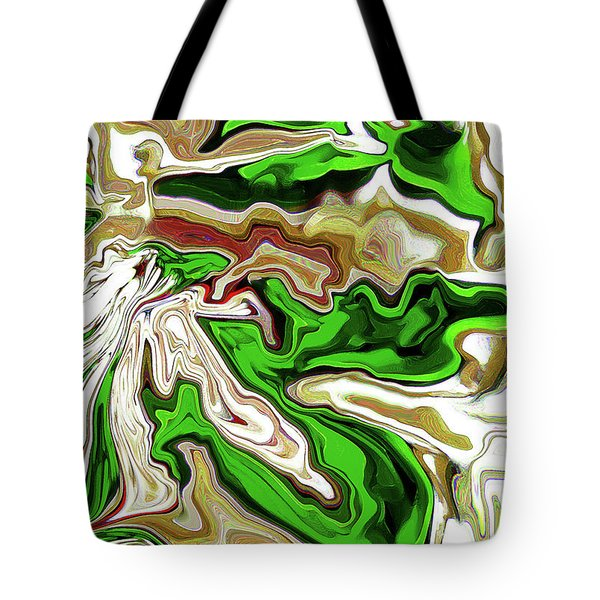 Leaves  Tote Bag by Molly McPherson