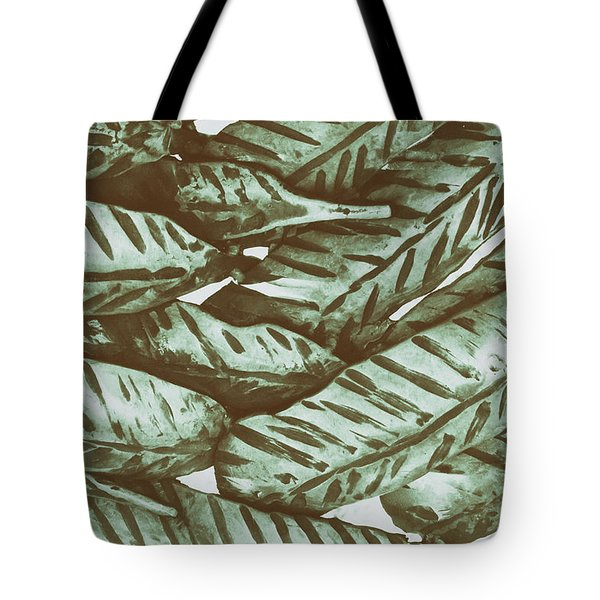 Leaves No. 3-1 Tote Bag